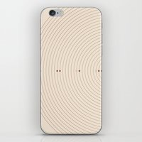 Alignment  iPhone & iPod Skin