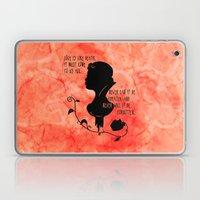 Love is like Death Laptop & iPad Skin