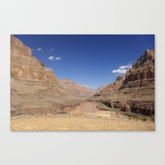 In the Canyon Canvas Print