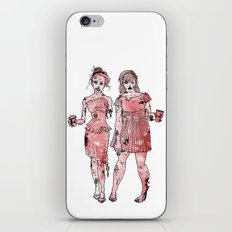 Zombie Bridesmaids iPhone & iPod Skin