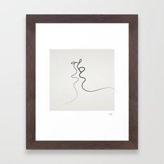 Kiss 2015 Framed Art Print