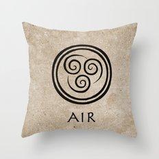 Avatar Last Airbender - Air Throw Pillow