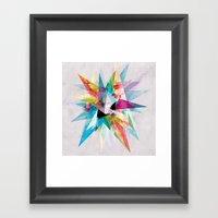 Colorful 2 XZ Framed Art Print