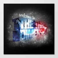Welcome To The 3rd Dimen… Canvas Print