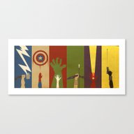Canvas Print featuring Assemble by The Art Of Danny Haa…