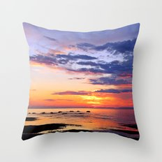 Preparation of the Night Throw Pillow