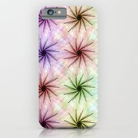 iPhone Cases featuring Color floral spiral by Ramo
