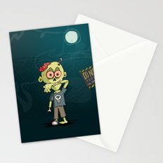 Do not feed the Zombies Stationery Cards