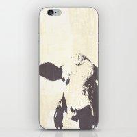 Rustic Cow iPhone & iPod Skin