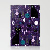 Halloween Kittens  Stationery Cards