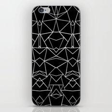 Ab Mirror Black iPhone & iPod Skin