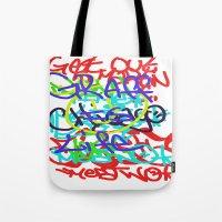 Graffiti Is Life Tote Bag