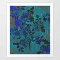 Royal Roses Art Print