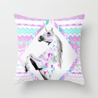 TWIN SHADOW By Vasare Na… Throw Pillow