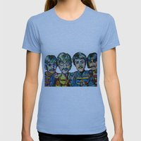 Lonely Hearts Womens Fitted Tee Athletic Blue SMALL
