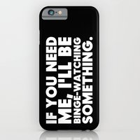Binge Watching iPhone 6 Slim Case
