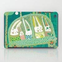 Rabbit journey iPad Case