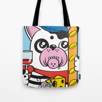 The Frenchie Connection Tote Bag