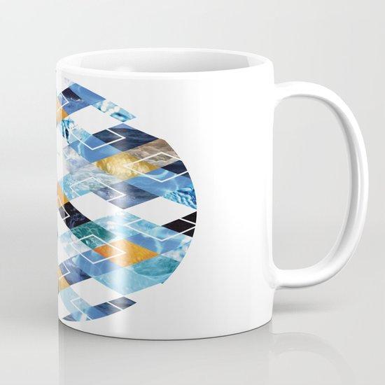 Argyle Aquarium Mug