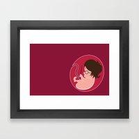 Baby Harry Framed Art Print