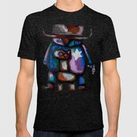 Sheriff Mens Fitted Tee Tri-Black SMALL