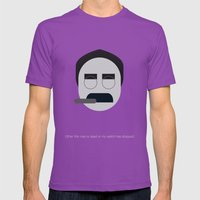 FC - Groucho Mens Fitted Tee Ultraviolet SMALL