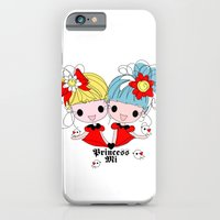 Princessmi illustration Two happy girls iPhone 6 Slim Case