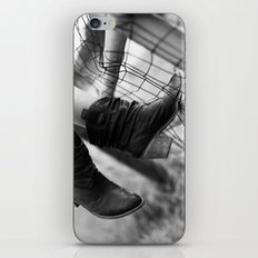 if it's not those cow boy boots in the summer iPhone & iPod Skin
