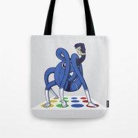 Twister World Champion Tote Bag