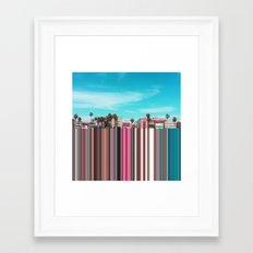Venice, CA Framed Art Print