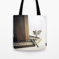 Tom Feiler Sparrows Tote Bag
