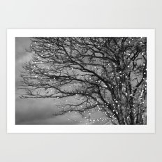 Magical In Black and White Art Print