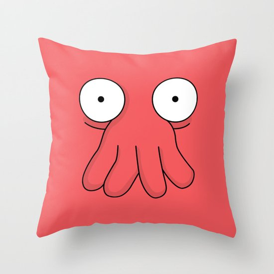 Dr. Zoidberg Throw Pillow
