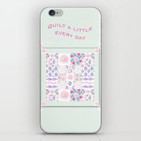 A Shabby Chic Patchwork iPhone & iPod Skin