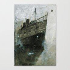 The Upper Berth Canvas Print
