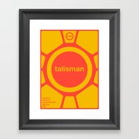 talisman single hop Framed Art Print