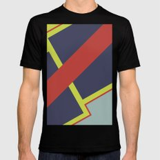 lava Mens Fitted Tee SMALL Black