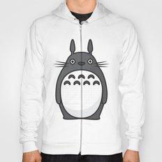 Totoro Pop Art - White Version Hoody