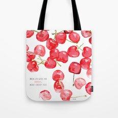 Cherry pies Tote Bag