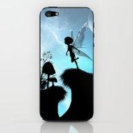 Fairy Silhouette iPhone & iPod Skin