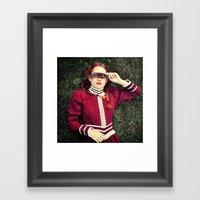 blinded Framed Art Print