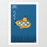 Olympics #4 Art Print