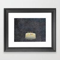 Unbirthday Framed Art Print
