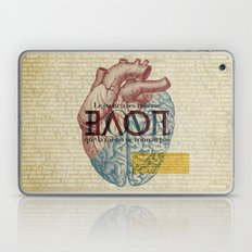 Love is...heart and reason Laptop & iPad Skin