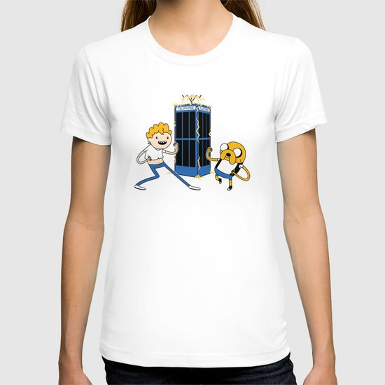 Finn and Jake's Excellent Adventure through Time T-shirt
