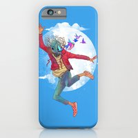 iPhone & iPod Case featuring BIRDMAN by GENO75