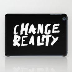 Change Reality - Handwritten Typography iPad Case