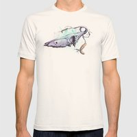 skullbranch Mens Fitted Tee Natural SMALL