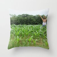Youth Throw Pillow