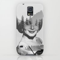 Galaxy S5 Cases featuring outside by Peg Essert